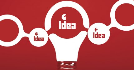 TEAM. Idea concept.  3d vector illustration. Can be used as background for your business presentation.